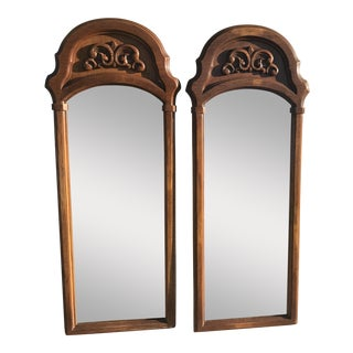 1973 Vintage Carolina Mirrors - A Pair