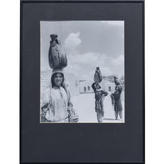 1951 'The Water Carriers, Israel' Photograph