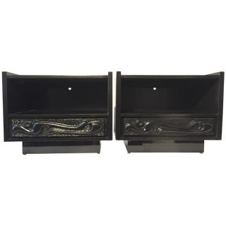 *Item on Hold* Witco Oceanic Nightstands - a Pair