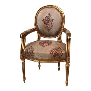 French Louis XVI Style Chair