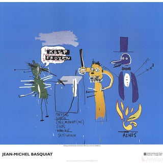 Jean Michel Basquiat, the Dingoes That Park Their Brain With Their Gum, 2002