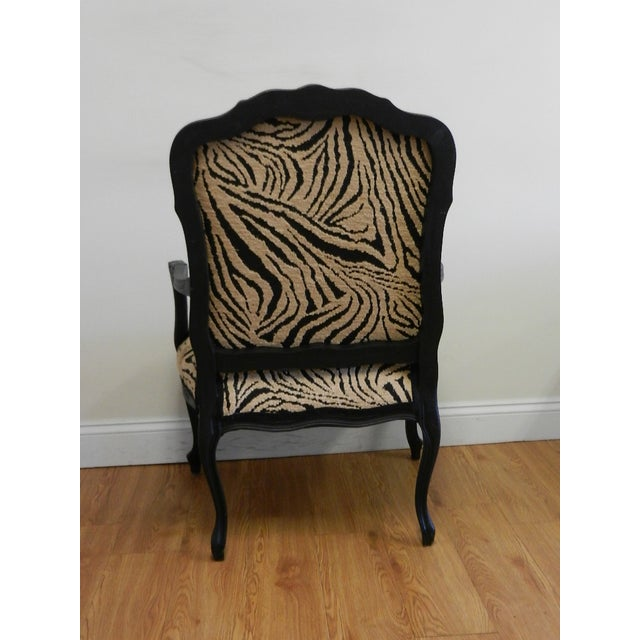 Louis XIV French Provincial Occasional Chair - Image 5 of 7