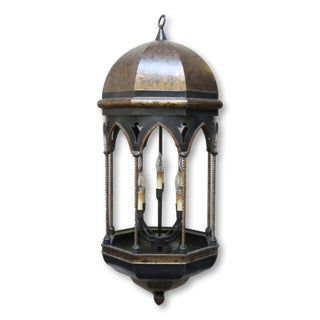 8 Light Moroccan Lantern Chandelier