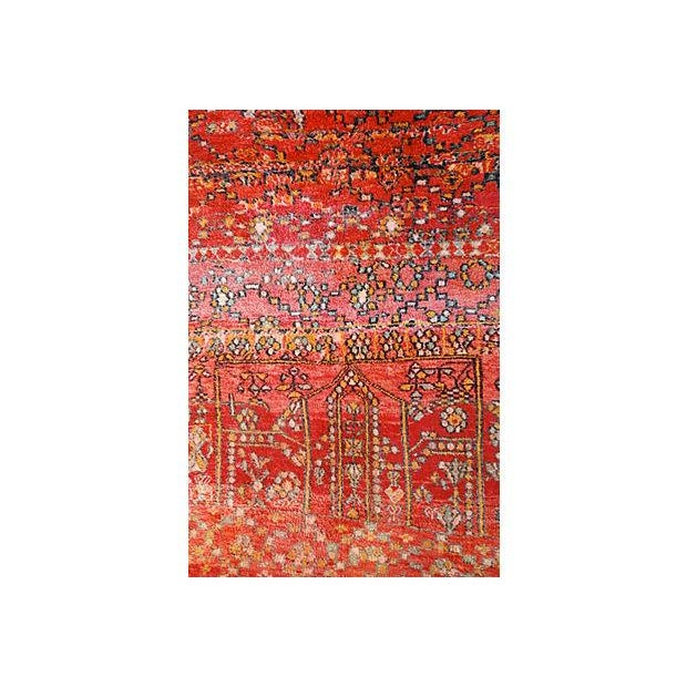 Vintage Moroccan Tribal Rug - 5′1″ × 8′2″ - Image 5 of 5