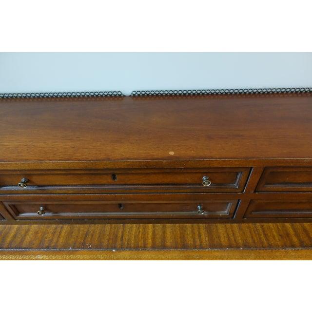 Drexel Heritage Leather-Top Desk - Image 8 of 9