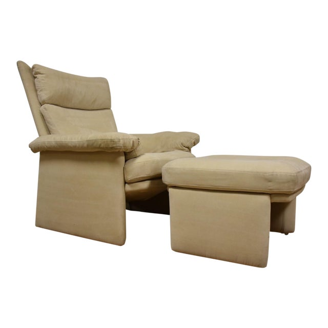Rolf Benz for Cy Mann Recliner & Ottoman - Image 1 of 11