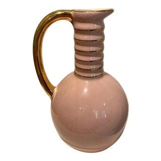 C. 1937 Boch Freres Keramis Porcelain Pitcher