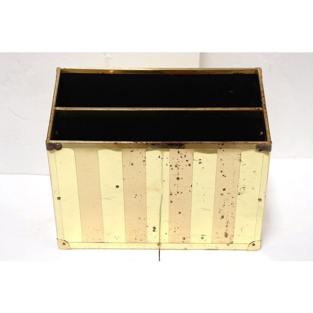 Brass Campaign-Style Magazine Holder - Image 2 of 5