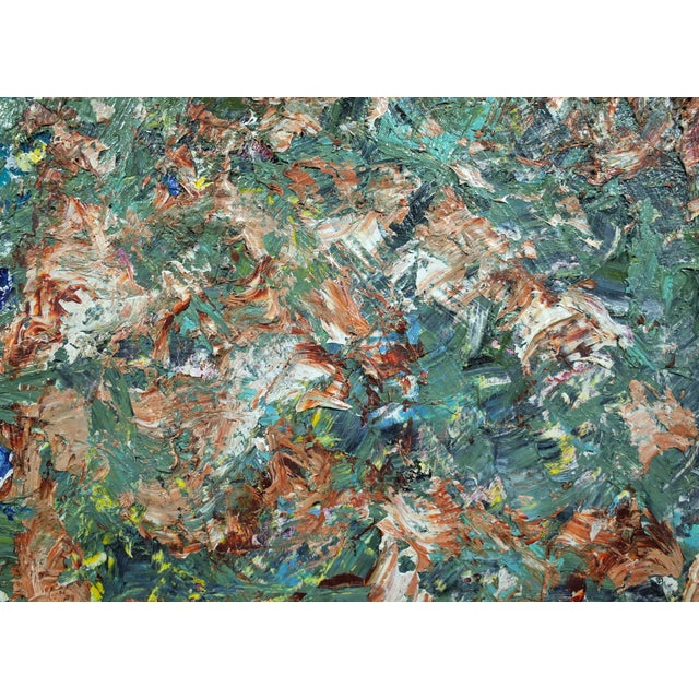 """""""# 15"""" Original Abstract Painting - Image 3 of 4"""