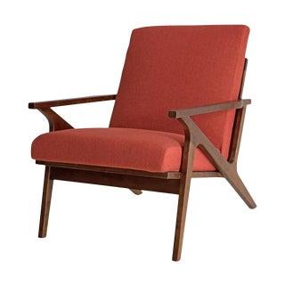 Solid Oak Danish Oak Z Chair