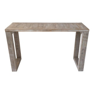 Parsons Weathered Cypress Console