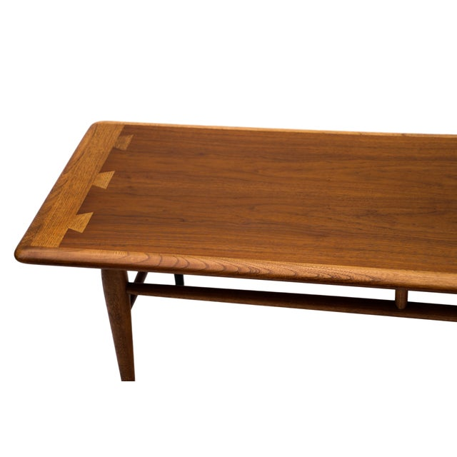 Lane Mid Century Dovetail Coffee Table Chairish