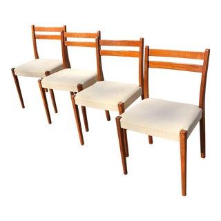 Svegards Markaryd Danish Modern Teak Dining Chairs - Set of 4
