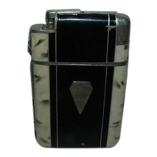 Vintage 1930's Art-Deco Multi-Functional Cigarette Case & Lighter