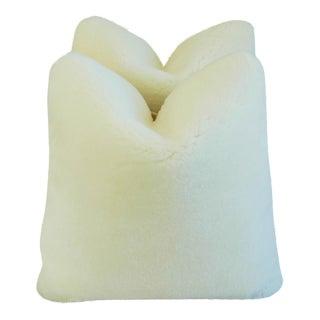 Plush Lambswool Scalamandre Velvet Pillows - Pair