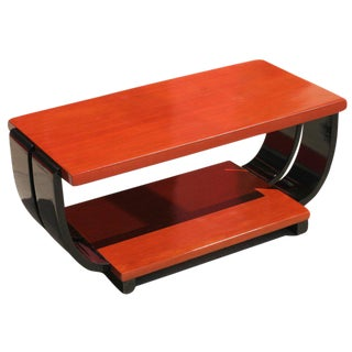 Art Deco Mahogany Coffee Table by Brown Saltman