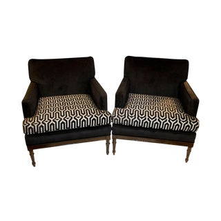 Vintage Mid-Century 1950s Club Chairs - A Pair