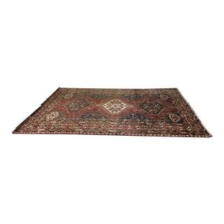 Vintage Himalayan Azeri Wool Area Rug - 6′9″ × 9′2″