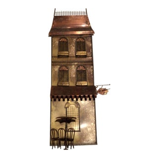 Curtis Jere Wall Sculpture of Parisian House