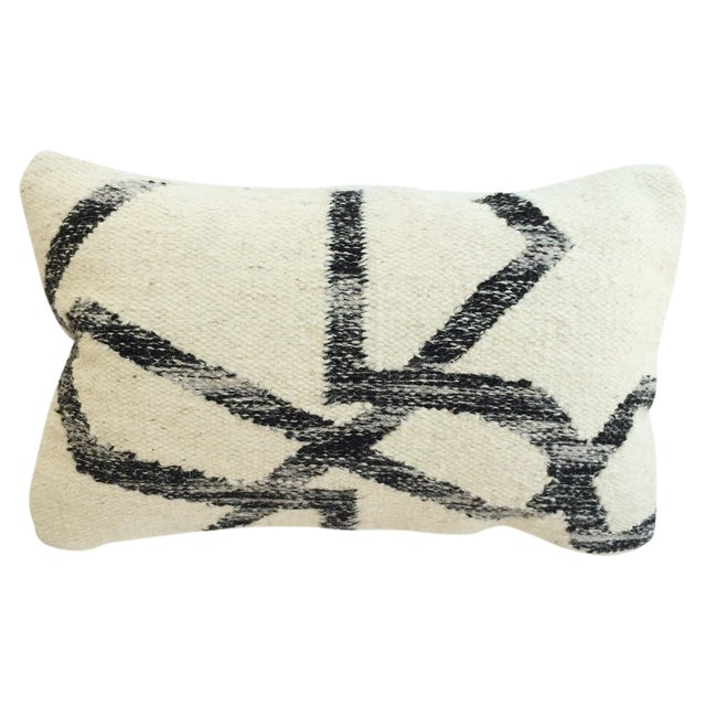Wool Lumbar Pillow - Image 1 of 3