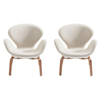 Arne Jacobsen Swan Chairs - a Pair
