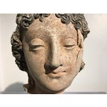 Image of Gandharan Terracotta Head of a Bodhisattva, 3rd - 5th century