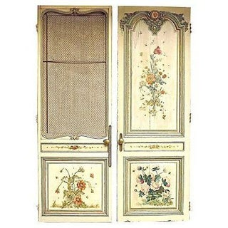 Antique French Salon Doors - A Pair