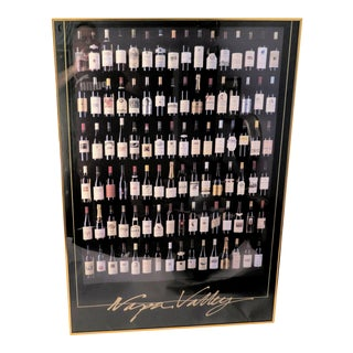 Vintage Napa Valley Wine Poster