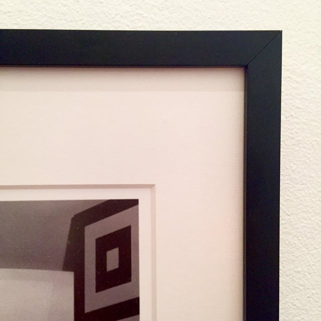 B&W Framed Geometric Art Deco Foyer Print - Image 3 of 4
