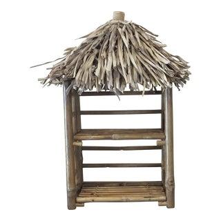 Bamboo Tiki Display Shelves