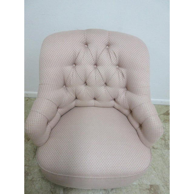 Ethan Allen Chesterfield Lounge Chair - Image 9 of 10