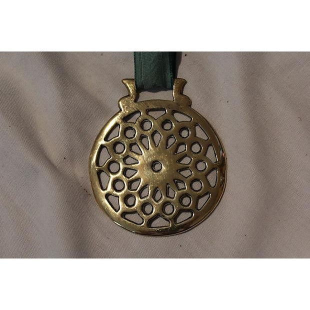 Image of Antique Victorian Horse Brass Ornament