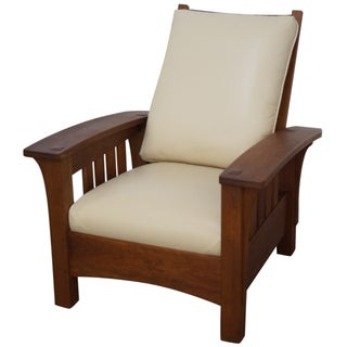Stickley Mission-Style Armchair