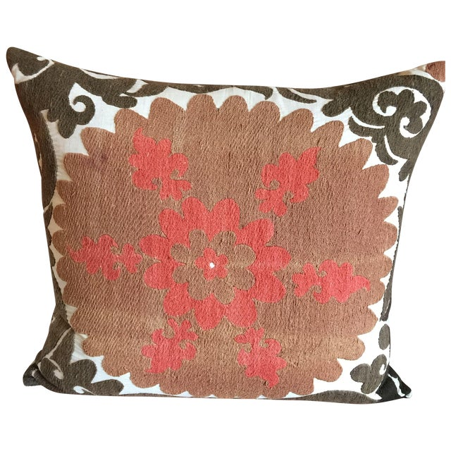 Vintage Floor Pillows : Vintage Gulkurpa Suzani Floor Pillow Chairish
