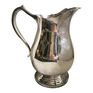 Silverplate Wallace Water Pitcher