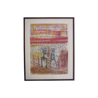 Mixed Media Abstract Drawing by Danny Simmons