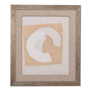 An Abstract Collage by Hans Richter, initialled and Dated 1967
