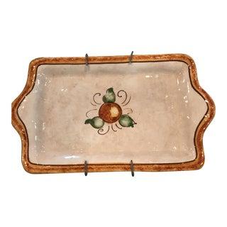 Authentic Vietri Fruit Plate