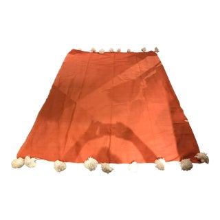Vintage Moroccan Pom Pom Throw