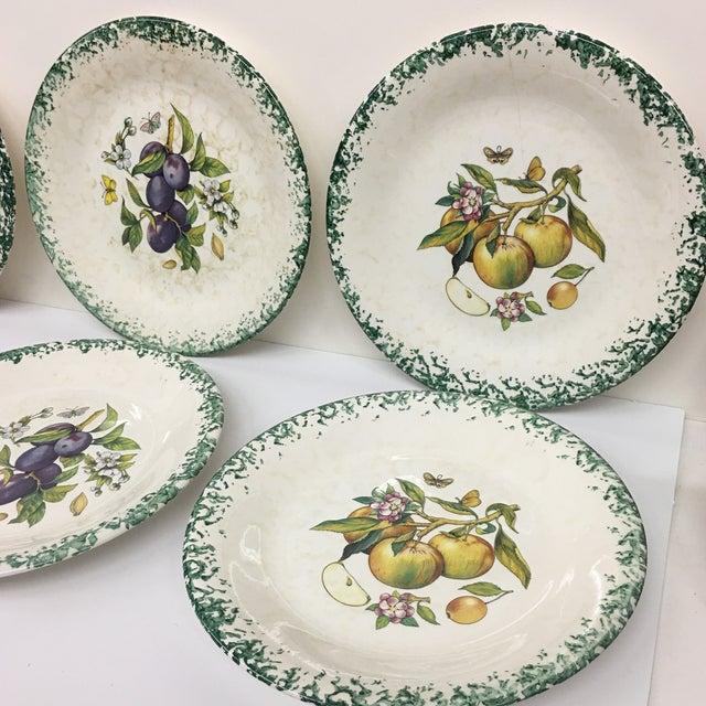 Italian Tre Ci Fruit Plates - Set of 6 - Image 10 of 11