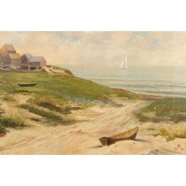19th-Century Sea Shore Landscape - Image 6 of 10