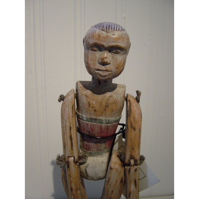 Vintage Wood Performance Puppet From Java - Image 3 of 3