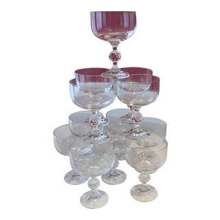 Mid-Century Modern Goblets Barware - Set of 12