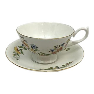 Ansley Tea Cup & Saucer - A Pair