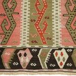 Image of Vintage Turkish Kilim Flatweave Rug - 4'3 X 6'