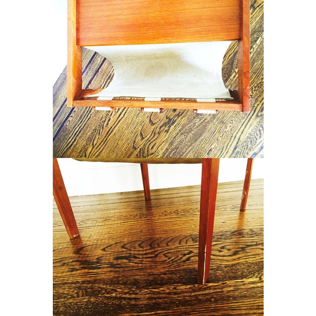 Mid Century Side Table With Magazine Rack - Image 6 of 6