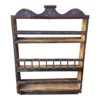 French 1859 Antique Wall Shelf