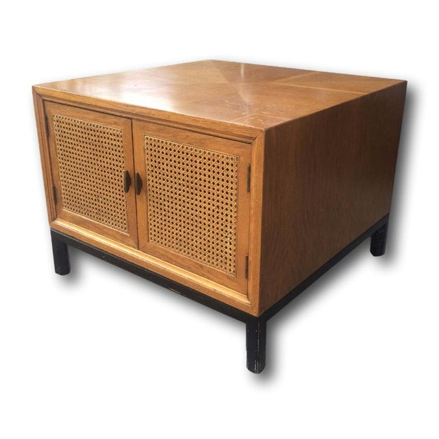 Vintage Paul McCobb-Style Cane Table - Image 2 of 7