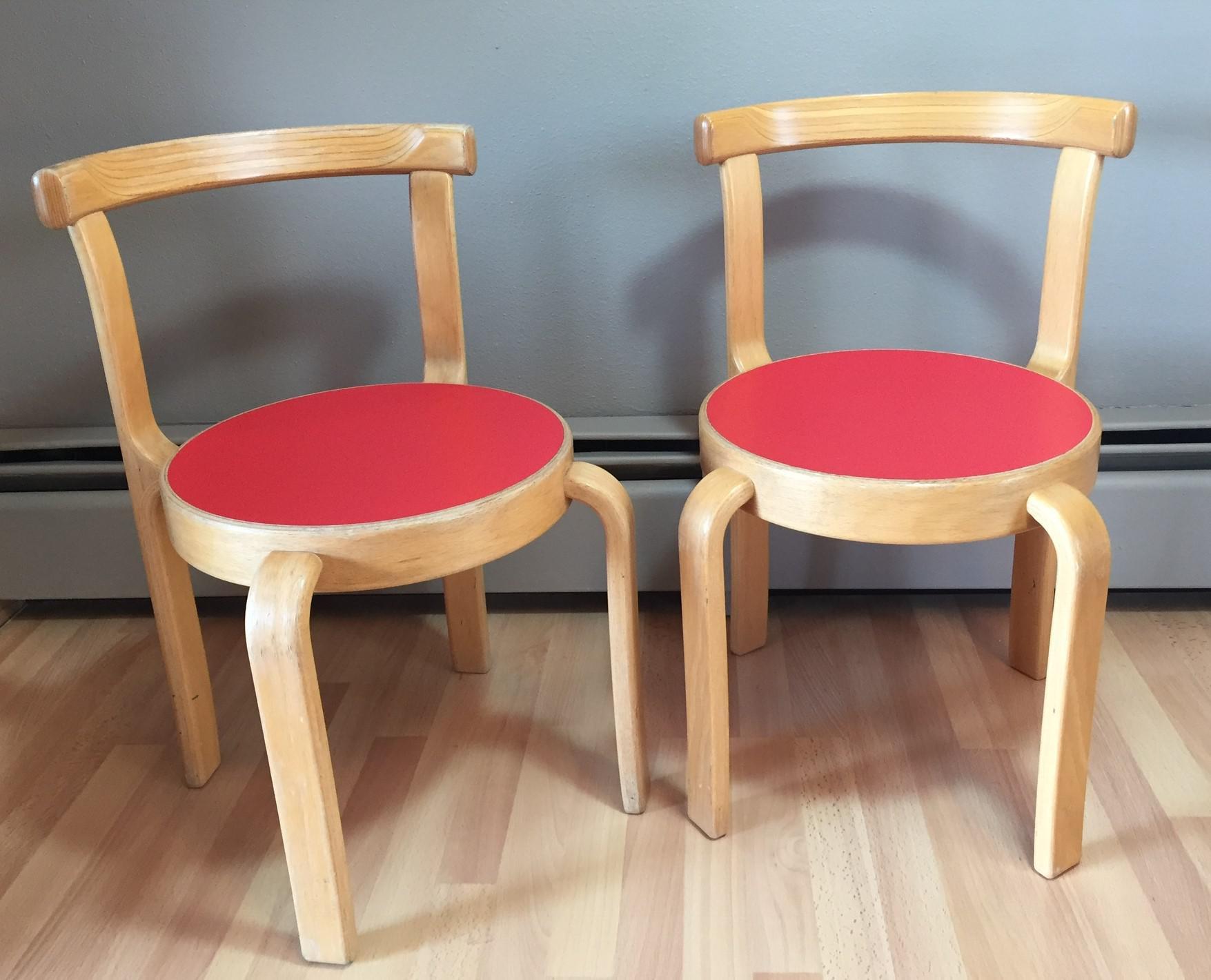 Vintage Magnus Olesen Stacking Childrenu0027s Chairs   A Pair   Image 2 ...