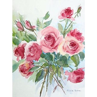 Red Roses by Alicia Burns